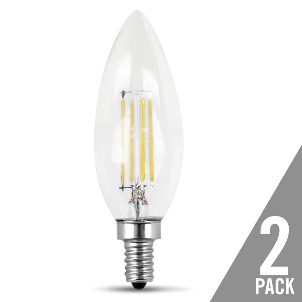 500 Lumen 2700k Dimmable Torpedo Tip Led Feit Electric