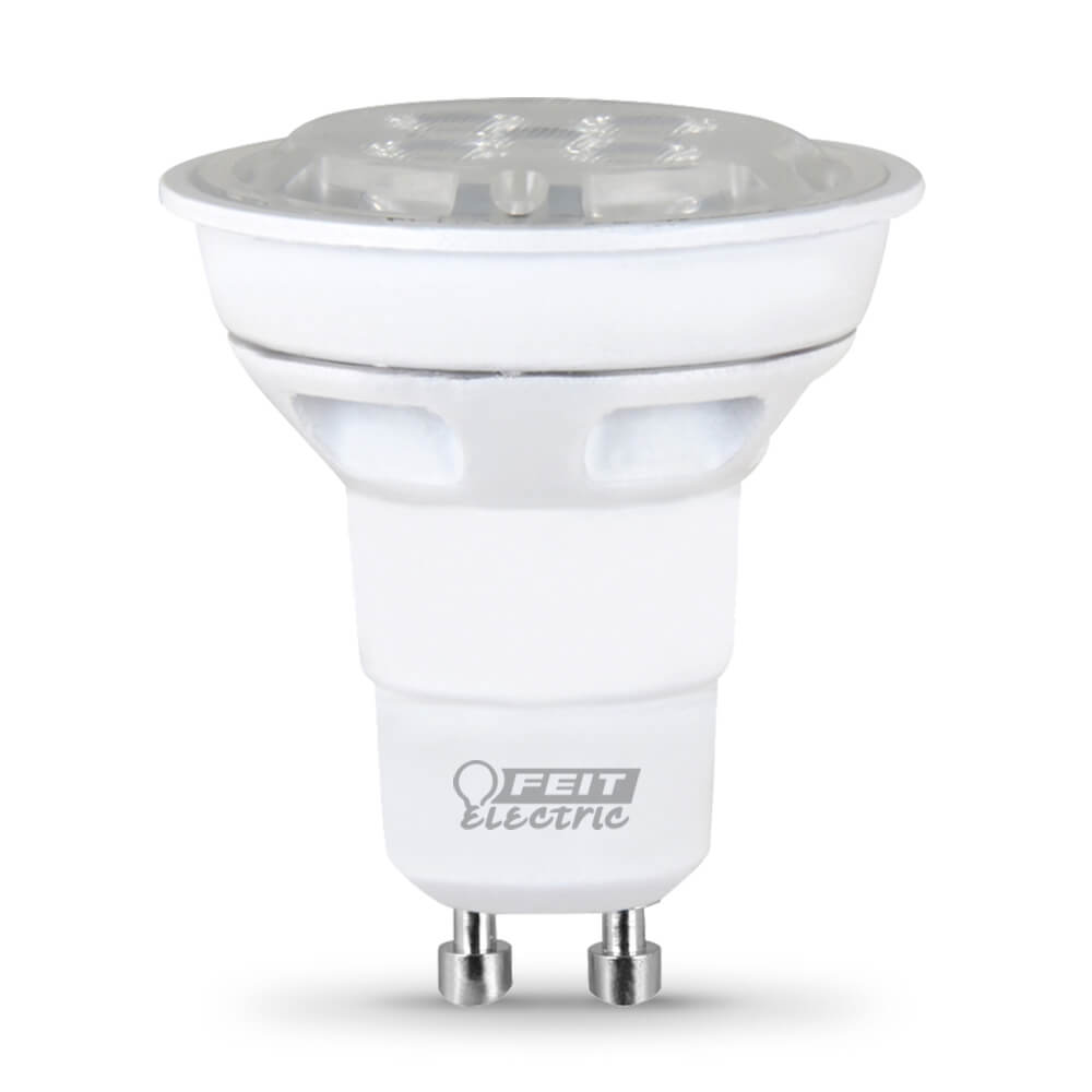 7 Watt 3000k Feit Led Dimmable Gu10 Base Mr16 Light Bulb: 370 Lumen 3000K Dimmable LED
